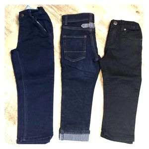 3 pairs of 3T boy jeans